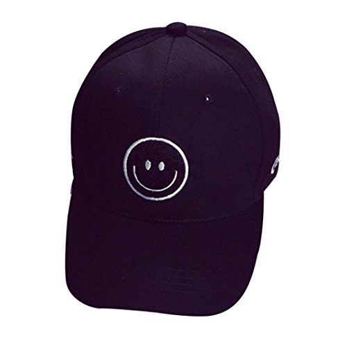 Internet Unisex Cappellini da baseball Hip Hop Cappello Lettera (Nero)