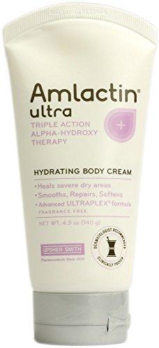 Amlactin Ultra Triple Action Alpha Hydroxy Acid Hydrating Body Cream 4.9 Oz.