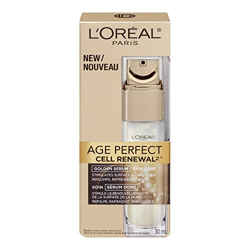 L'Oreal Paris discount duty free L'Oreal Paris Age Perfect Cell Renewal Golden Serum, 1 Fluid Ounce