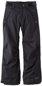Protest Hopkins 13  Pantalon de ski fille True Black FR : 10 ans (Taille Fabricant : 140)