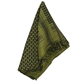 Rothco Proforce Olive Drab and Black Shemagh Scarf