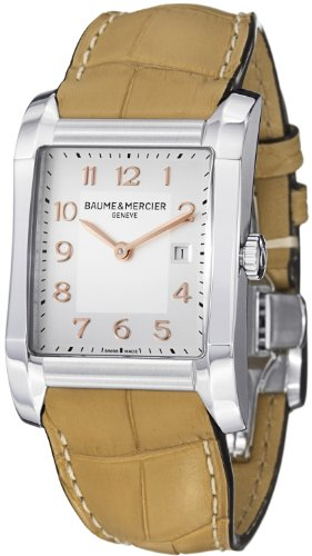 Baume & Mercier Hampton Ladies Sand Brown Leather