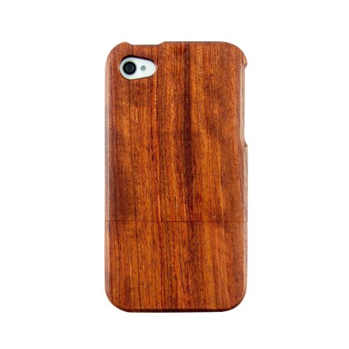 QUAD-G TECH Handmade Walnut Wood Case for iPhone 4 4S (Wood Iphone 4 Case compare prices)