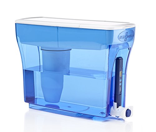 ZeroWater 23 Cup Dispenser with Free TDS Meter (Total Dissolved Solids) - ZD-018 (Filter Zero Water compare prices)