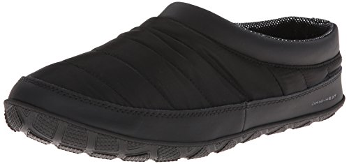 Columbia Men's Packed Out Ii Omni Heat Slipper,Black/Grill,12 M US