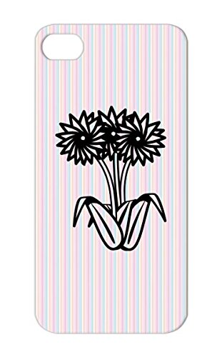 Three Corner Flowers Tpu For Iphone 5S Black Spring Flower Beautiful Nature Gardening Miscellaneous Animals Nature Summer Garden Cover Case