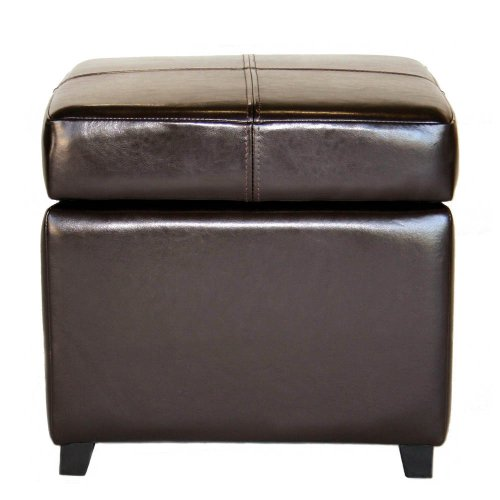 cheap ottomans and footstools rating review baxton studio leather