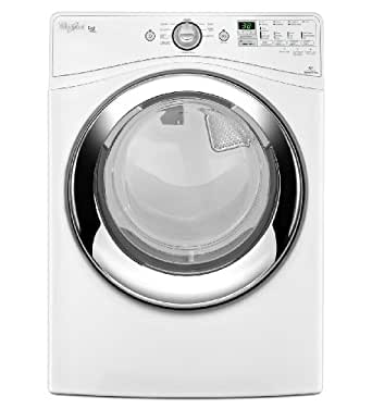 Whirlpool WED86HEBW Duet 7.4 Cu. Ft. White With Steam Cycle Electric Front Load Dryer