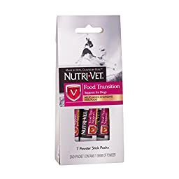 Nutri-Vet Food Transition Support for Dogs, 7-Powder Sticks