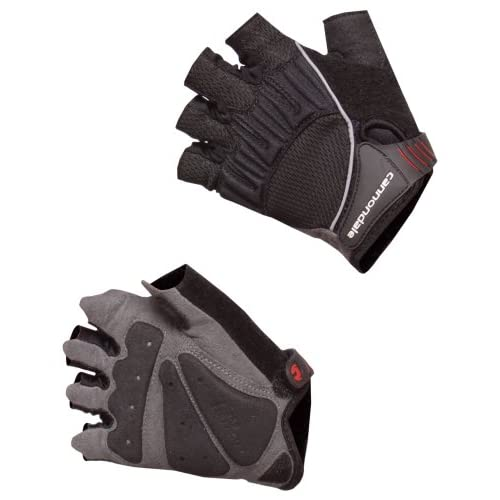 Cannondale-Gel-Tactic-Womens-Cycling-Gloves-M-Black