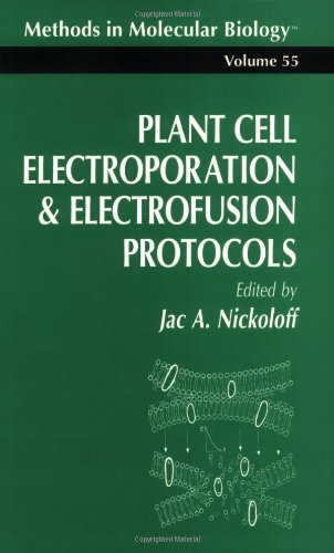 Plant Cell Electroporation And Electrofusion Protocols (Methods in Molecular Biology)