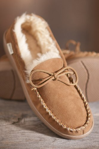 Cheap Sydney Classic Low Moc Sheepskin Slippers, CHESTNUT, Size M13 (B007TMABBA)