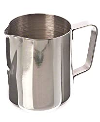 Update International EP-12 Stainless Steel Frothing Pitcher 12 Oz Milk Frother from Update International