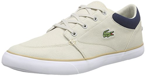 Lacoste BAYLISS 116 2 SPM, Herren Sneakers, Mehrfarbig (NATURAL/NAVY NN2), 44 EU (9.5 Herren UK) thumbnail
