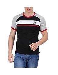 Moonwalker Men's Round Neck Cotton T-Shirt - B00WO059K0