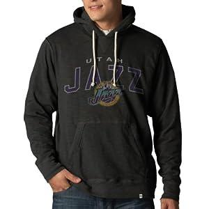 NBA Utah Jazz Mens Slugger Pullover Hoodie Jacket by