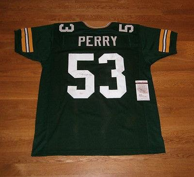 Nick Perry Autographed Jersey