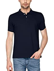Avenster Solid Half Sleeves Polo Neck Men's T-Shirt