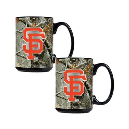 San Francisco Giants Mlb Open Field 2Pc Ceramic Mug Set