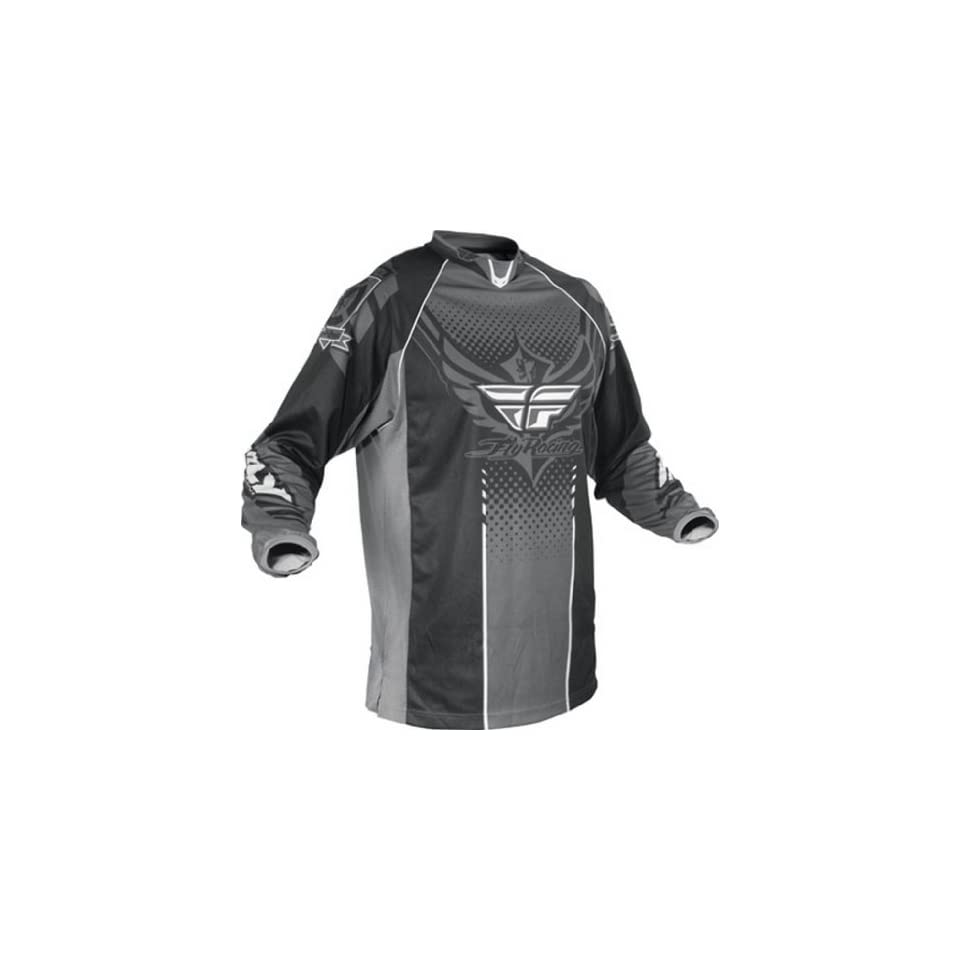 Fly Racing Patrol MX BMX motorcycle jacket adult men S small red black 366-682S