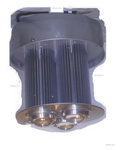 150 Watt Led Highbay Light Fixture With Aluminum Reflector 100-277 Volts White