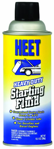 HEET SA16-12 Heavy Duty Starting Fluid - 10.1 av. oz.