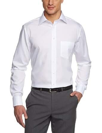 Jacques Britt Herren Businesshemd Comfort Fit 20.950601-01, Gr. 39, Weiß (white)