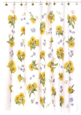 Sunflower Shower Curtains - Sunflowers Decor for Your Bathroom