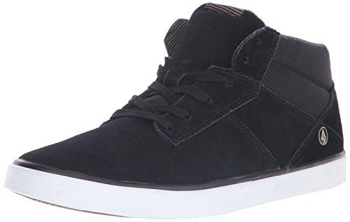 VolcomGrimm Mid 2 Shoe - Scarpe da Ginnastica Basse Uomo , Nero (Schwarz (Black Gum)), 45