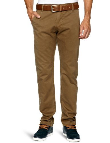 Dockers Alpha Khaki Tapered Men's Trousers Spice Bazaar W34 INxL32 IN