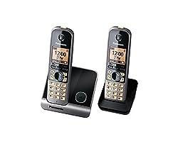 Panasonic (KX-TG 6712CX) 1.9GHZ Premium Quality Digital cordless TWIN DECT Phone
