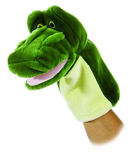 """Aurora 10"""" Glade Alligator Hand Puppet"""