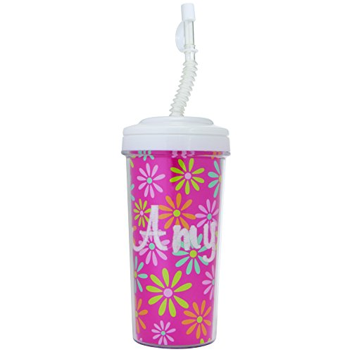 Custom Tumblers With Straw front-1048076