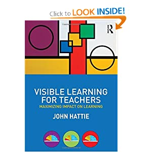 Visible Learning for Teachers: Maximizing Impact on Learning ebook