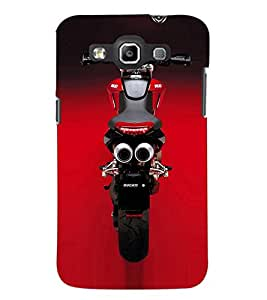 PrintDhaba Stunning Bike D-1153 Back Case Cover for SAMSUNG GALAXY QUATTRO (Multi-Coloured)