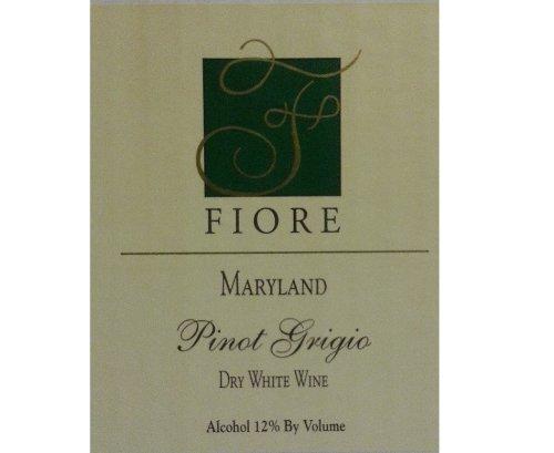 Nv Fiore Winery Pinot Grigio 750 Ml