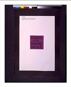 Historic Print (L): Szekspir: Król Ryszard Drugi / Tomaszewski.