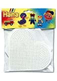 Hama Beads Pegboard Bag Large Hexagon/ Heart Activity Art Set New
