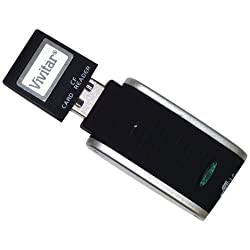 VIVITAR VIV-RW-SD MEMORY CARD READER SECURE DIGITAL CARD VIV-RW-SD -