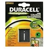 Duracell DR9953 - Camera battery Li-Ion 630 mAh - for Sony Action Cam-HDR-AS30; Cyber-shot DSC-QX10, QX100, TX100, TX30, TX300, W710, W730, WX60