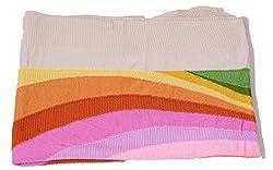 Kinari Women's Wool Stole (Multicolor)