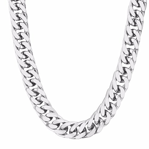 New Trendy 316L Stainless Steel High Quality Necklace Women/ Men GIft Thick Chain Necklaces Jewelry N50041