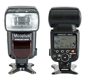 Mcoplus - MK900 TTL Flash Speedlite replacement for Nikon SB900 and Nikon cameras D800 D800E D600 D7100 D7000 D5200 D5100 D5000 D3200 D3000 D300 D200 D90