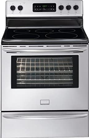 "Frigidaire DGEF3041KF Gallery 30"" Stainless Steel Electric Smoothtop Range"