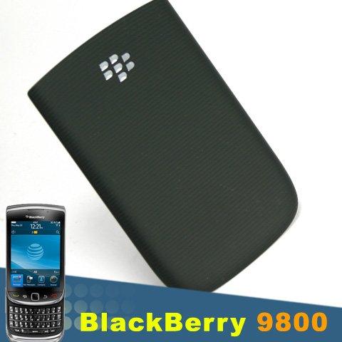 ORIGINAL BLACKBERRY TORCH 9800 OEM BLACK HOUSING BATTERY DOOR COVER