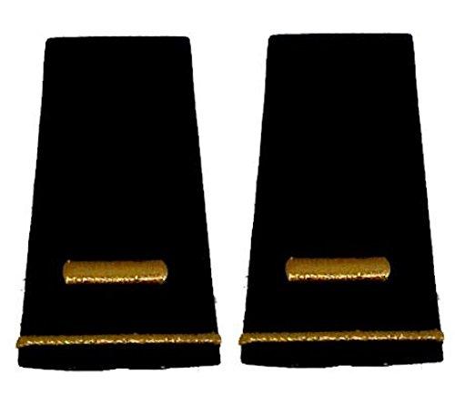 Army Uniform Epaulets - Shoulder Boards O-1 2ND LIEUTENANT (Shoulder Boards compare prices)