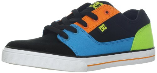 Dc Shoes Bristol Cnvas Black Multicolor Fashion Sports Skate Shoe D0303324A 12 UK Junior, 13 US