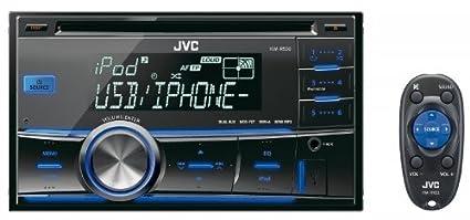 JVC KW-R500E Autoradios 200 W Bluetooth, En Façade et Arrière USB