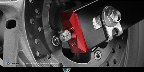 Dimotiv DMV Chain Adjuster for HONDA CBR 250R 11~14 (Red)