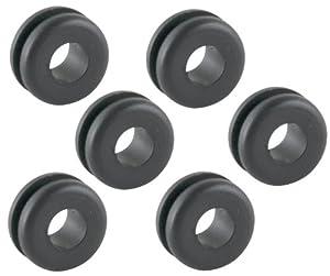 Gardner Bender GHG-1525 1/4-Inch Hole Grommets, 6-Pack